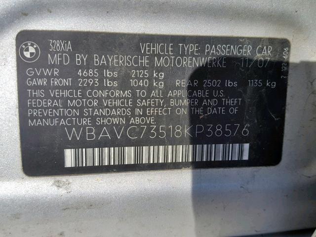 31477309 328 XI SULEV BMW
