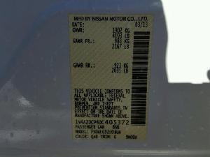 52734768 LEAF S NISSAN