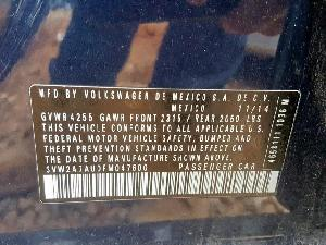 25372879 GOLF TDI VOLKSWAGEN