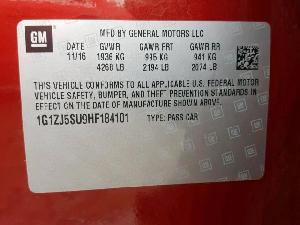 26607919 MALIBU HYBRID CHEVROLET