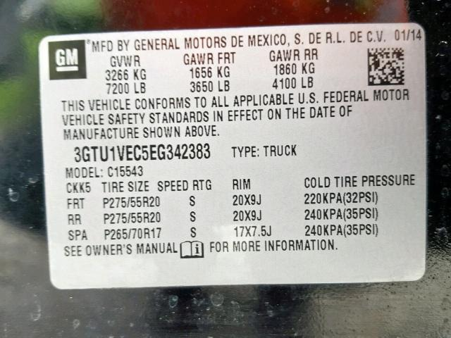 30024379 SIERRA C1500 SLT GMC